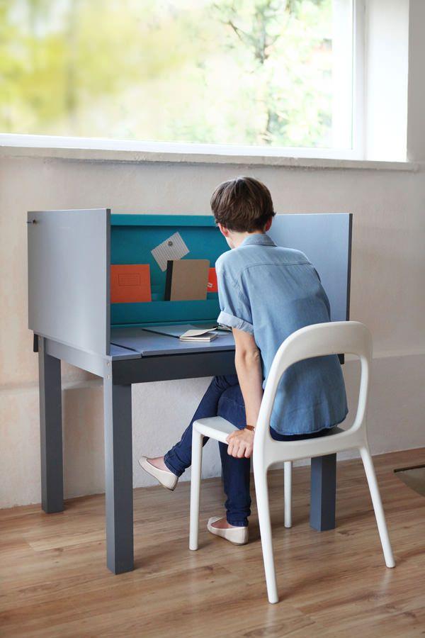 Multifunctional Desk Plus Qu Un Bureau Par Agata Nowak Meubles Pour Petits Espaces Mobilier Et Mobilier De Salon
