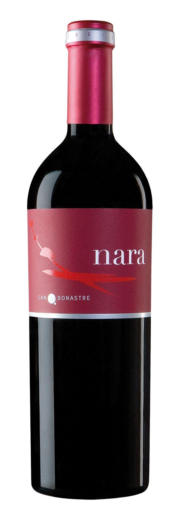Nara Vino Wine Of Spain Mxm Wine Label Packaging Wine From Spain Wine Bottle