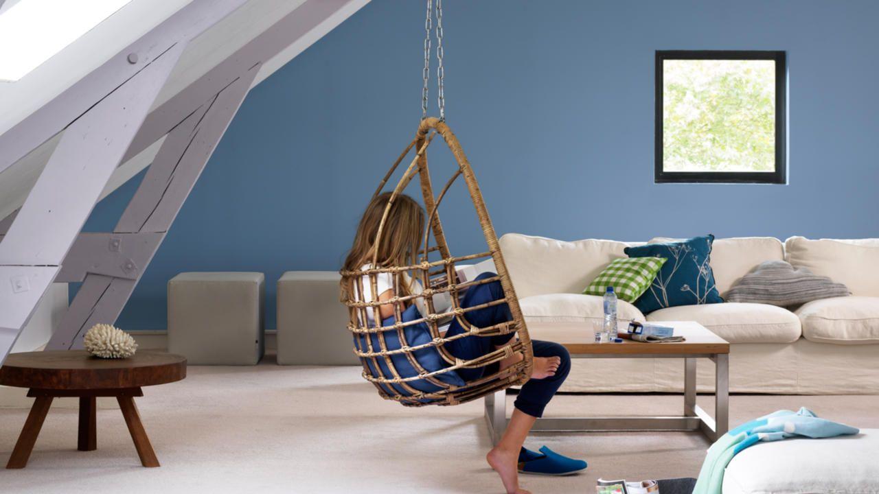Ambiance zen pour un salon d di au bien tre peinture salon home entertainment furniture - Ambiance peinture salon ...
