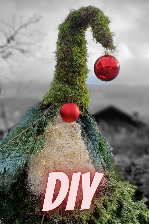 Wichtel Fur Den Garten Diy Deko Inspiration Weihnachten Winterdekorationen Moos Dekor