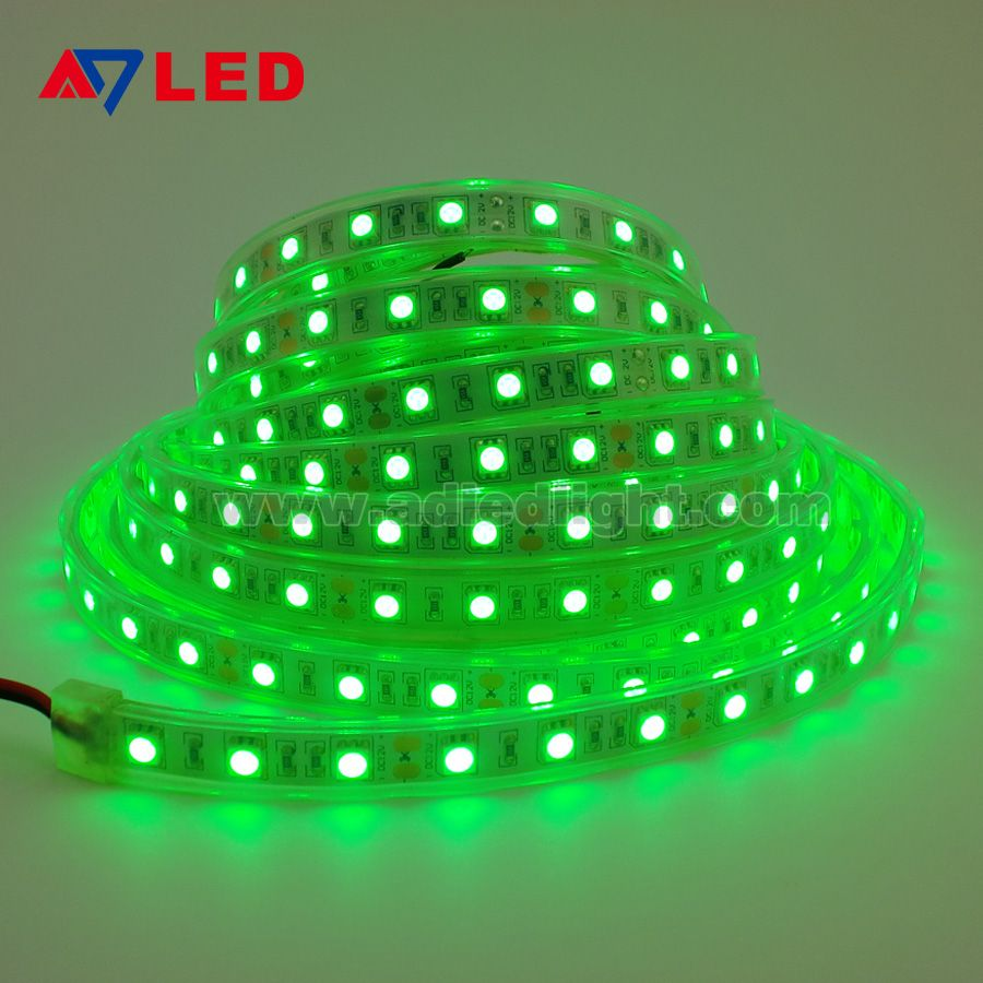 Green Waterproof Led Strip Light Led Strip Lighting Led Light Strips Flexible Led Light