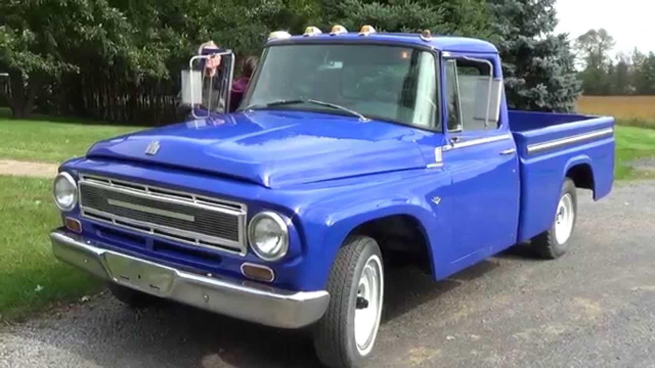 1967 International Harvester Pick Up Truck Youtube International Harvester International Harvester Truck Trucks