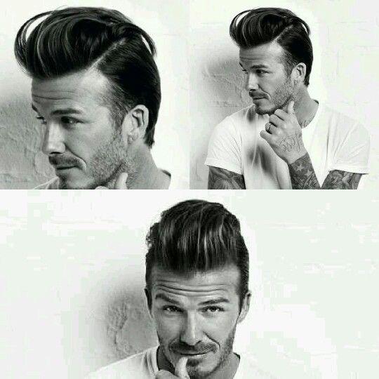 David Beckham Pompadour Haircut Style Pinterest Pompadour