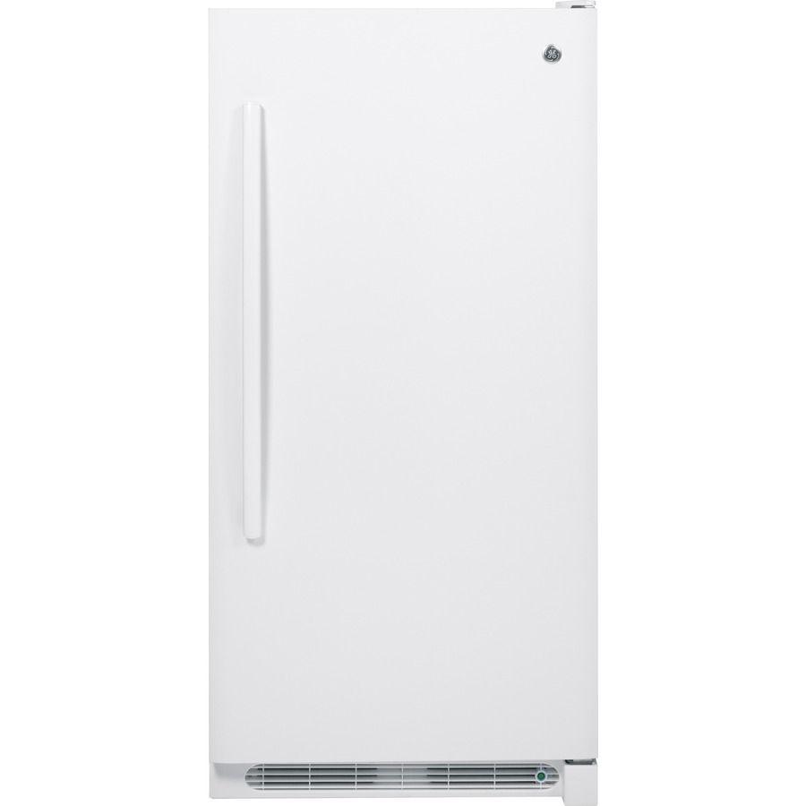 GE 13.8cu ft FrostFree Upright Freezer (White) Upright