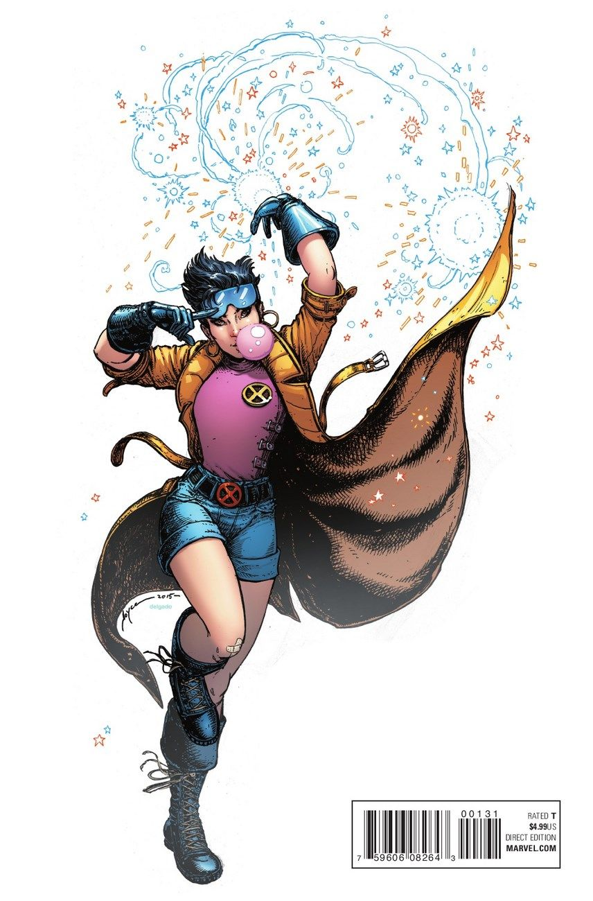 Comicsodissey Marvel Comics Art Marvel Jubilee Superhero Art
