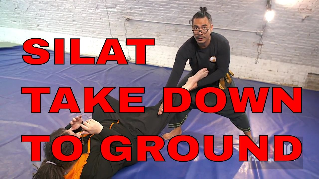 Devastation defence take down to ground silat martial
