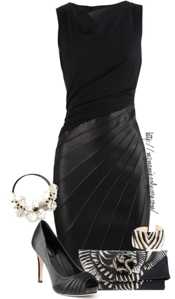 "Like the dress but not the accessories (""Untitled #897"" by mzmamie on Polyvore)"