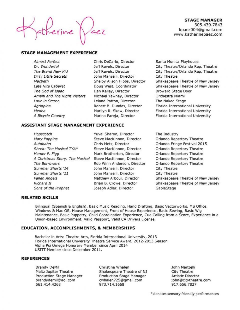 resume templates foh restaurantanager sle exles front of