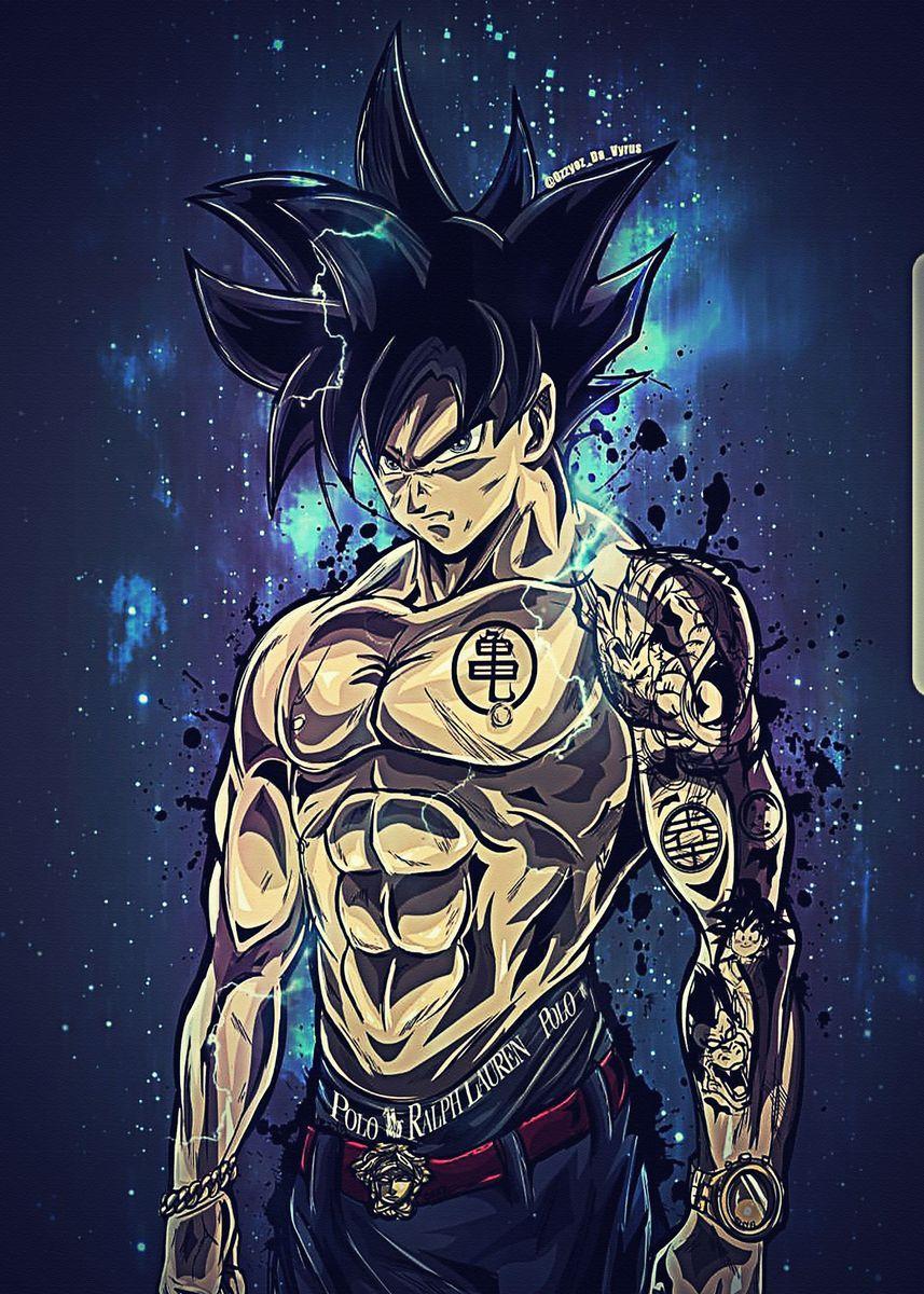 'Dragon Ball Z Super Dbz ' Poster by ProfFayBergnaum | Displate