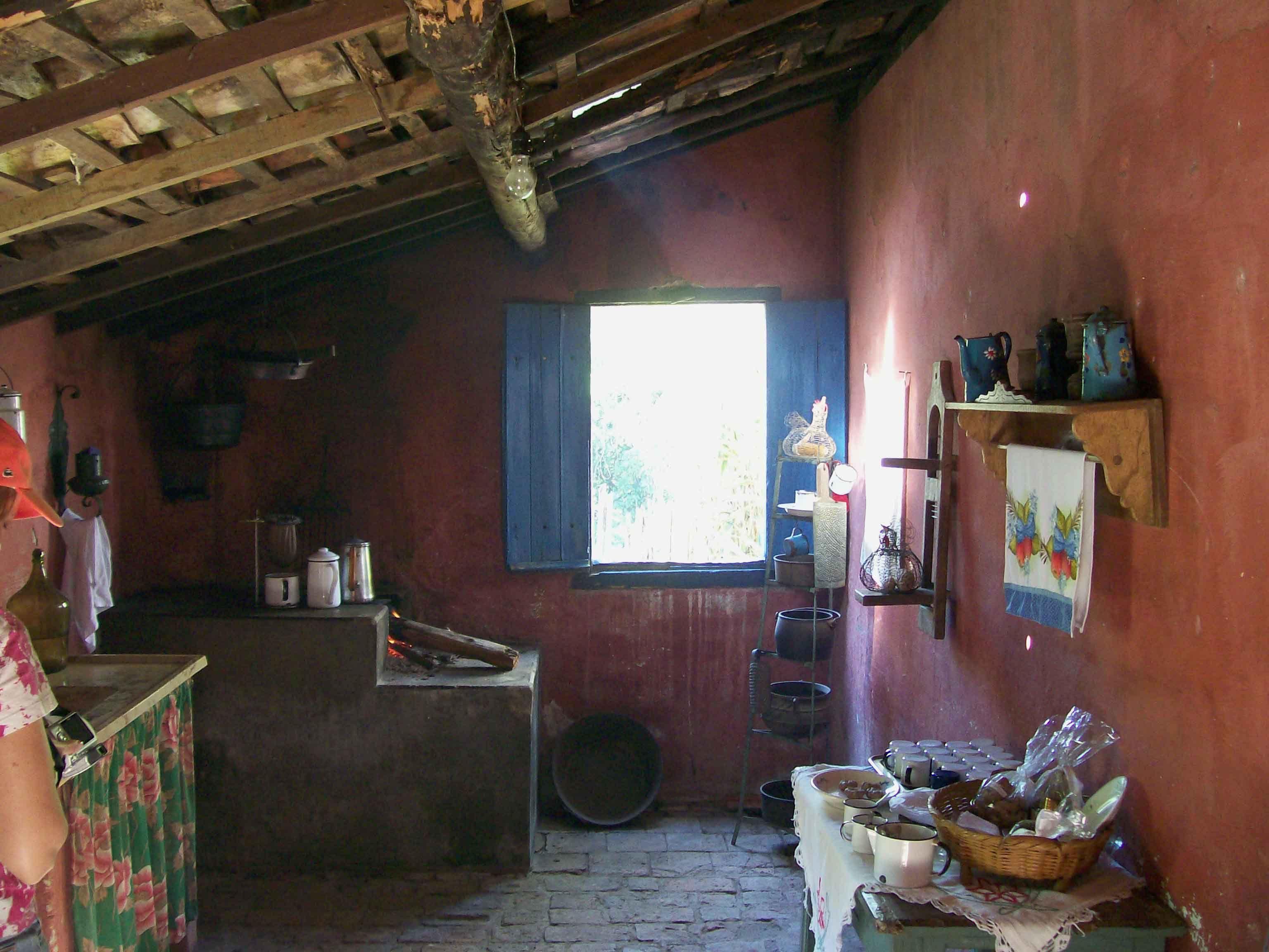 Cozinha Caipira 01 As Riquezas Da Ro A