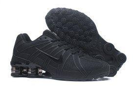8beb8eec65f687 Good Production Line Nike Shox Kpu Triple Black Shox Nz Mens Athletic  Running Shoes Trainers