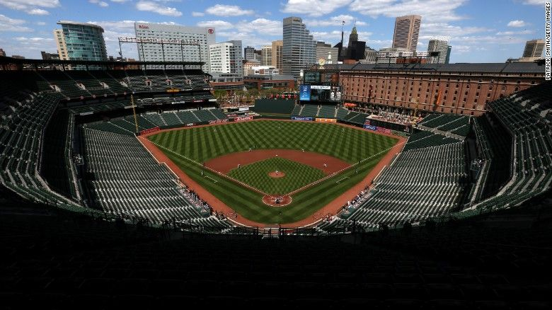 Baltimore Riots A Surreal Week In Charm City Baltimore Orioles Game Baltimore Orioles Orioles