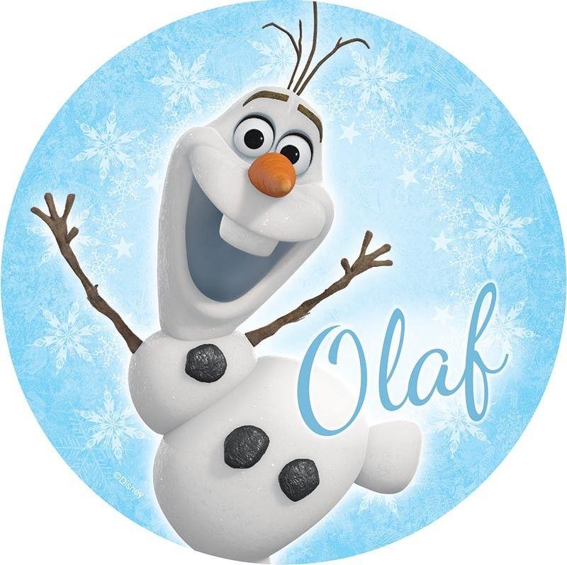 Disney Frozen Olaf Edible Cake Topper | Disney Frozen ...