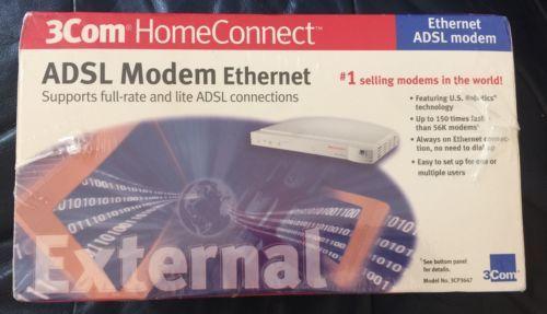 Drivers for 3Com HomeConnect ADSL Modem Dual Link