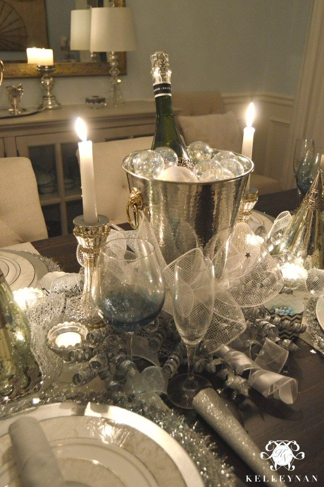 Creating a New Year's Eve Table | Kelley Nan | After ...