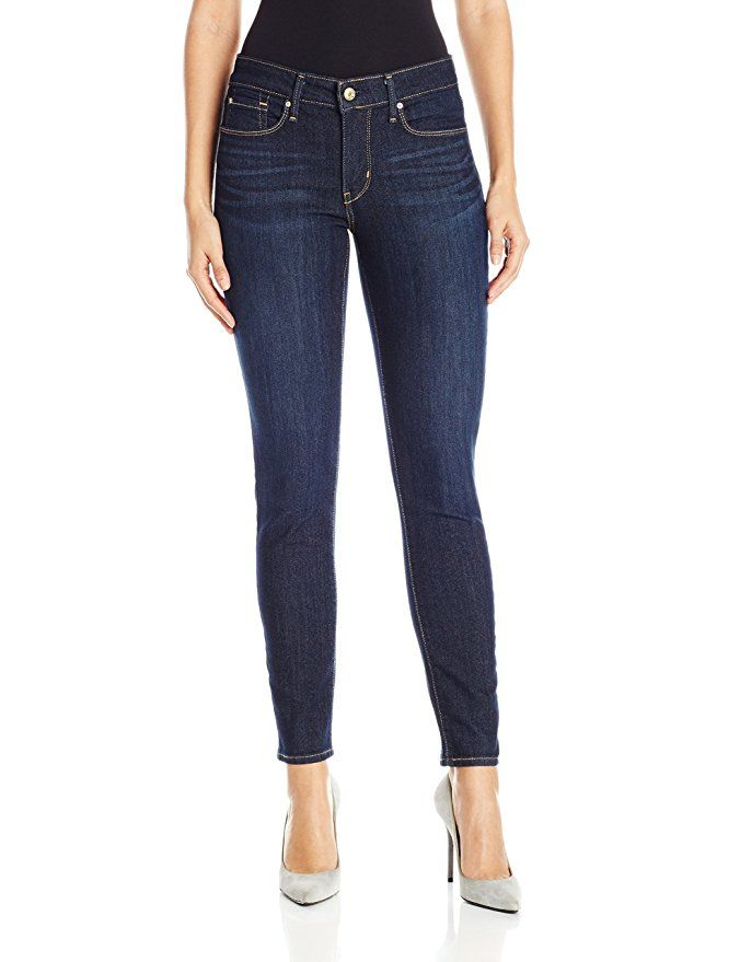 Signature by Levi Strauss & Co Women's Totally Shaping Skinny Jeans, Gala, 4 Medium