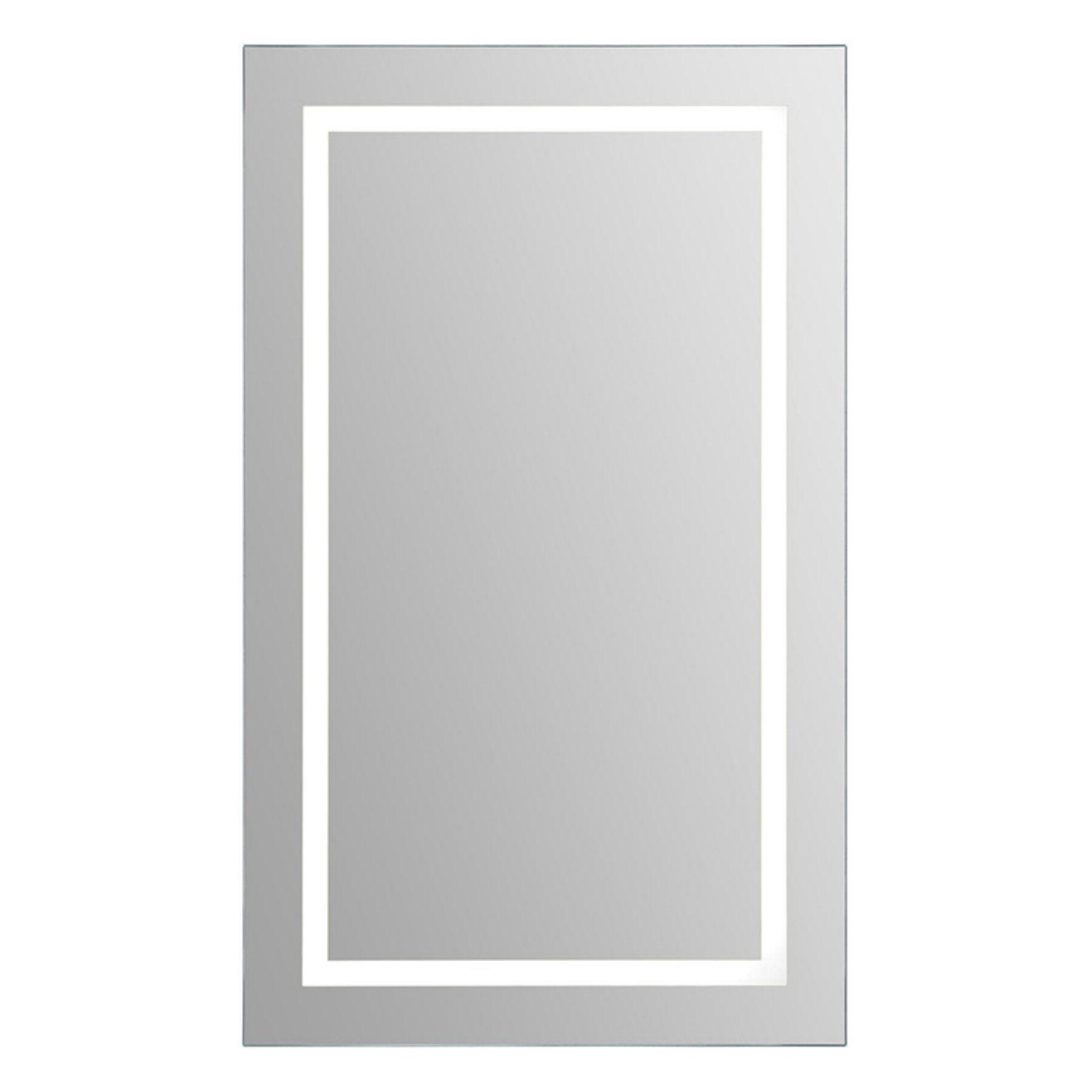 ren wil rectangular led wall mirror 24w x 40h in led mirror frames on wall rectangular mirror ren wil rectangular led wall mirror
