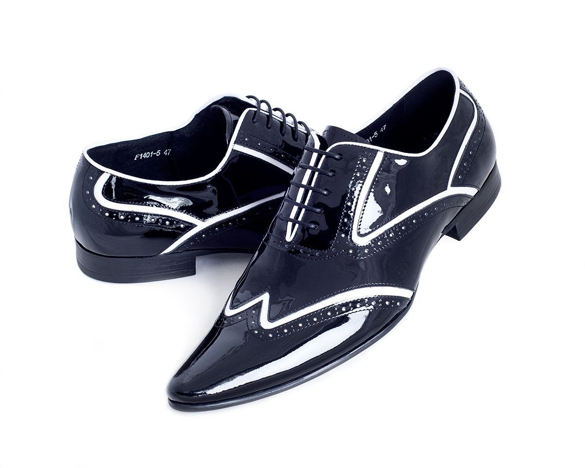Black dress sandals for wedding - Black Men S Designer Shoes With White Pin Stripe
