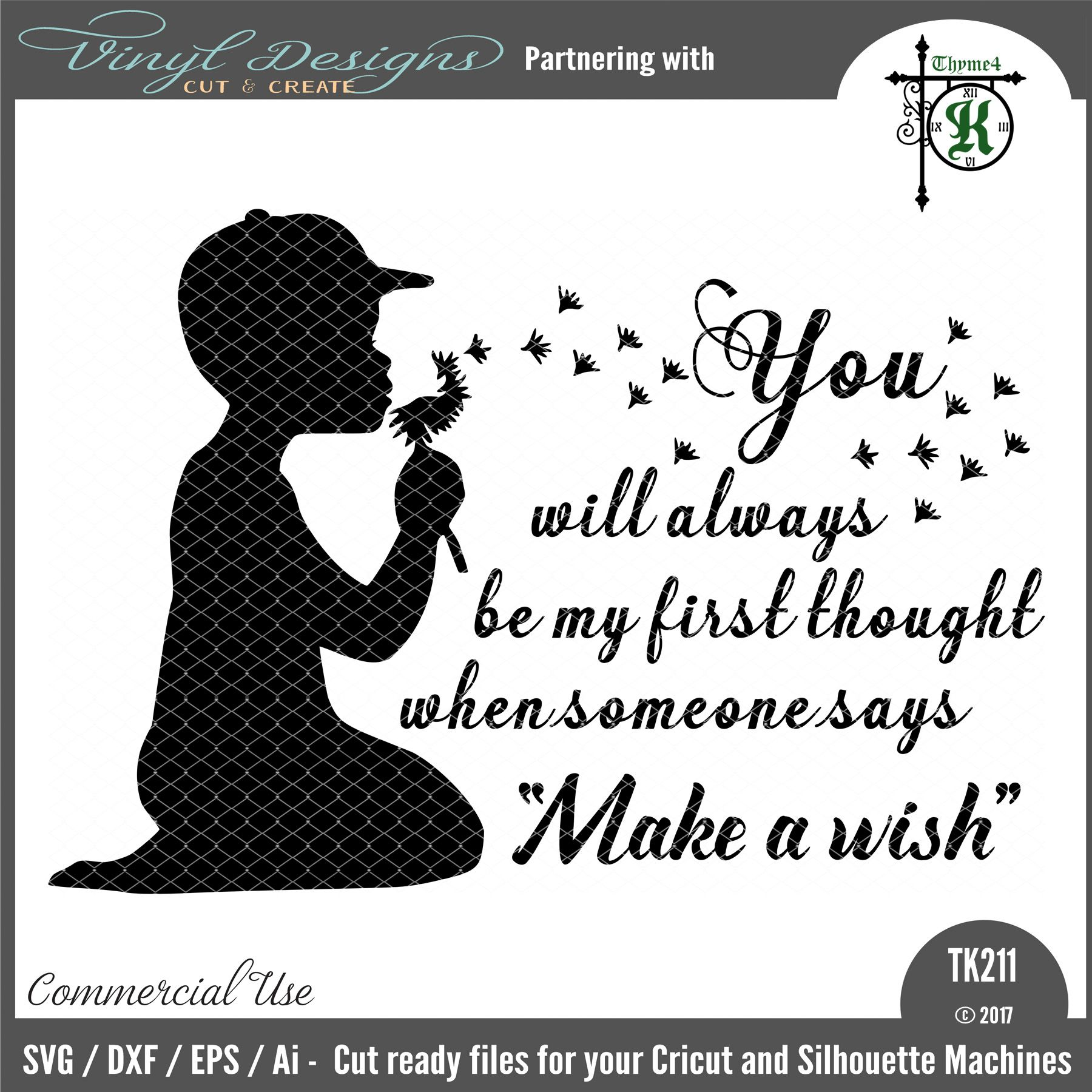 TK211 Make a Wish (boy). Sold By Thyme4KSmall business commercial ...