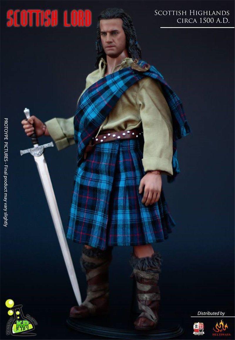 Kaustic Plastik 1//6 scale KP0012 Brave Heart Scottish Lord Highlander Belt