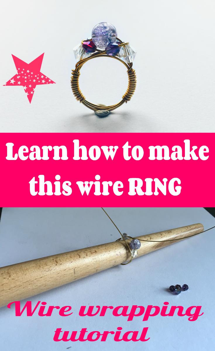 Enjoyable Wire Wrapped Ring Tutorial Craft Gallery Pinterest Wire Wiring Database Xlexigelartorg