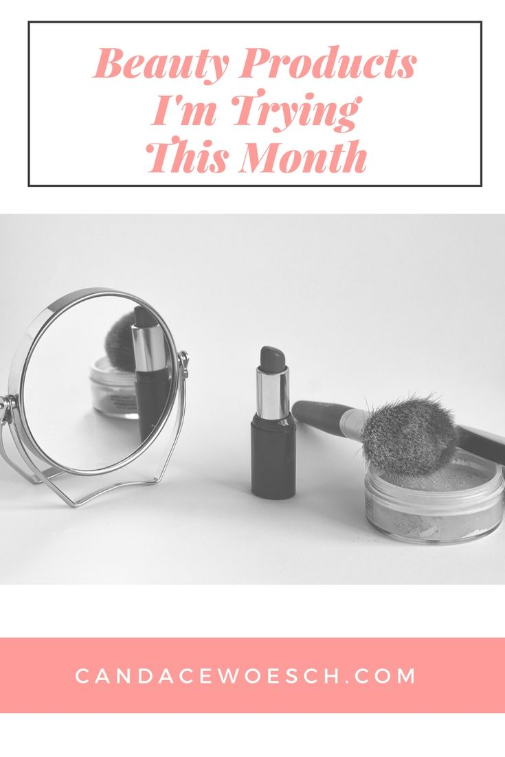 Beauty products im trying this month from sephora