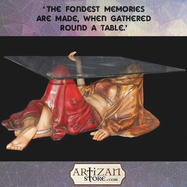 Get unique glass-top table with #traditional art-work that will make your room look more vibrant. Don't wait, purchase this #handcrafted table designed by skilled artisans from www.artizanstore.com  Shop Now >> https://goo.gl/dJEK2u