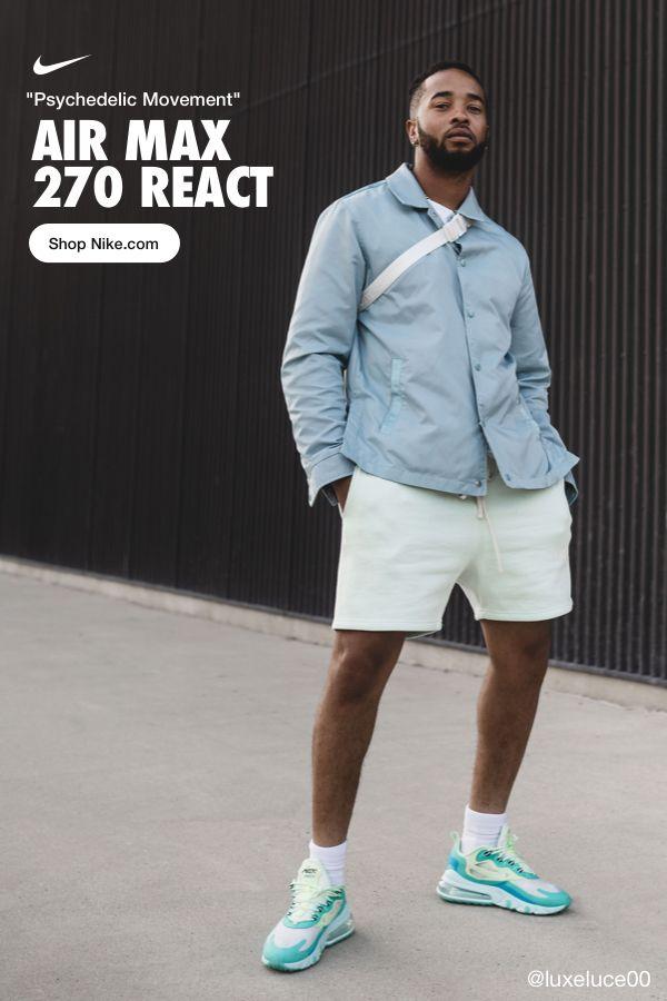 Nike Air Max 270 React Outfit Ideas : react, outfit, ideas, أرشيف, دائرة, الجاسوس, Analogdevelopment.com