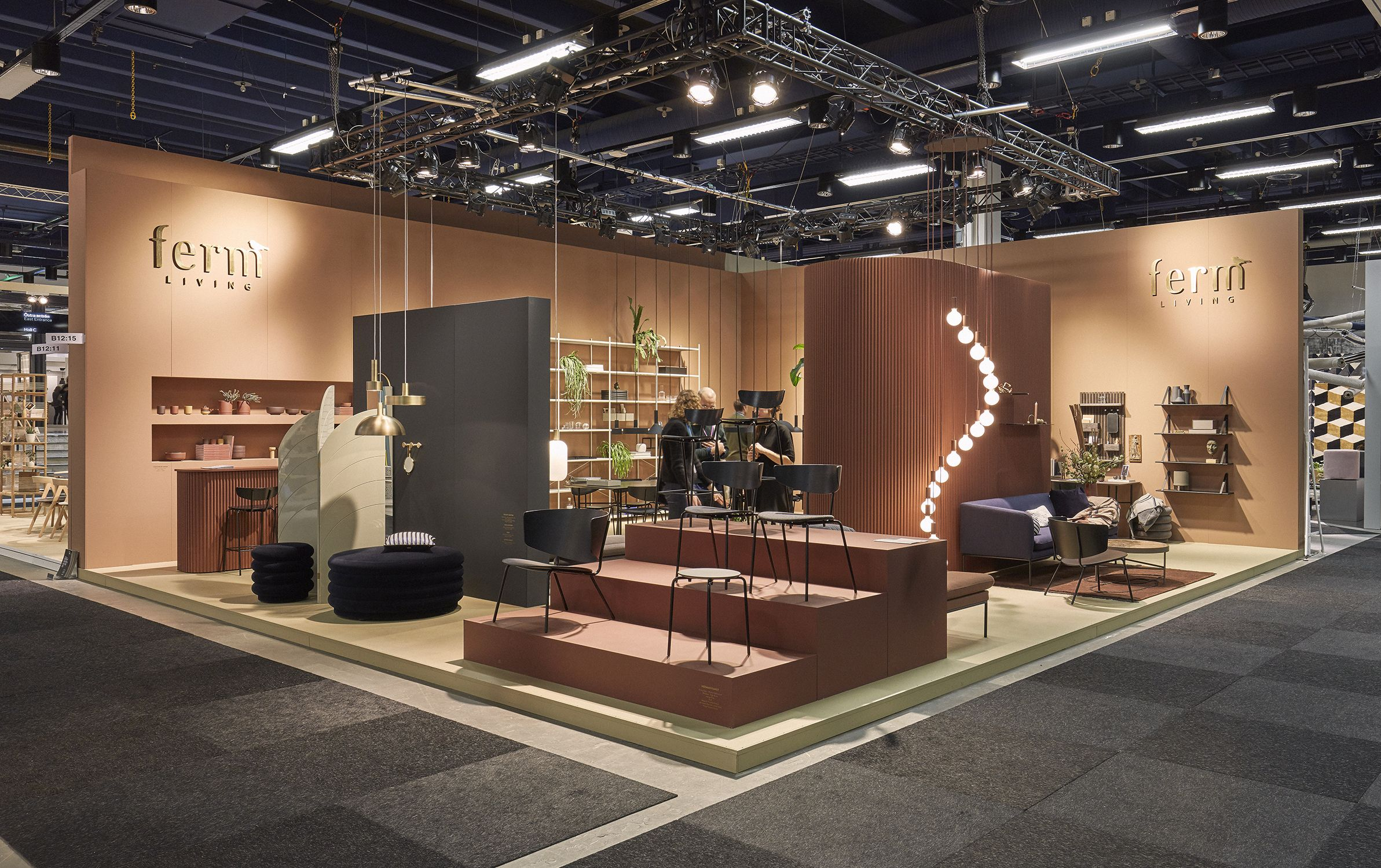 Ferm Living Exhibition stand at Stockholm Furniture Fair 12