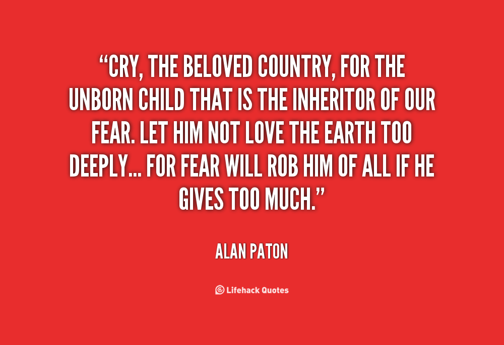 a literary comparison of cry the beloved country and the bible Compare prices for this movie find a black south african pastor in the 1940s who treks across his enormous country to salvage his cry, the beloved country.