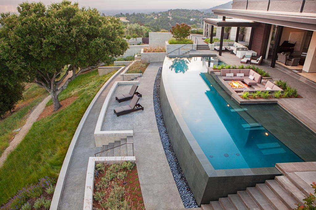 Contemporary Masterpiece Houses For Rent In Los Altos Hills
