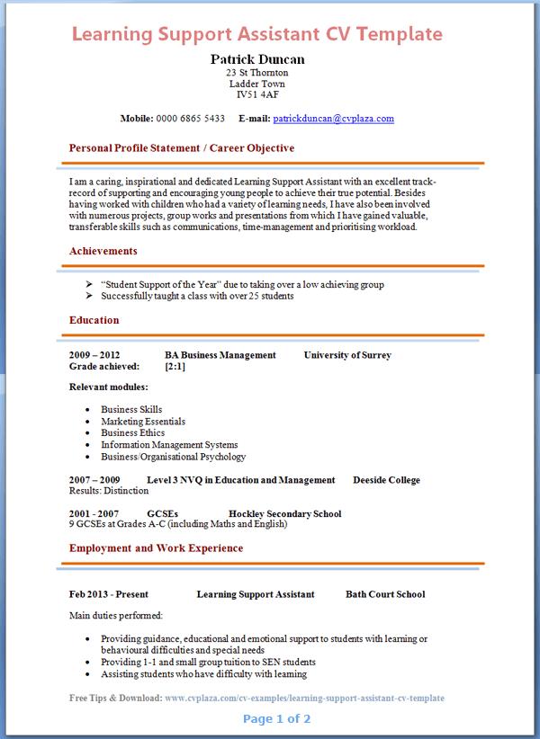 resume sample of special education teacher