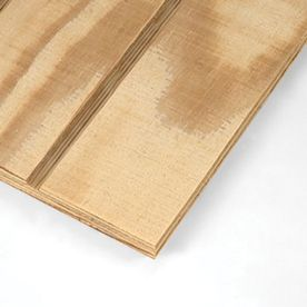 Plytanium 4 In On Center Untreated Wood Siding Common 48 In X 8 Ft 3 In Actual 47 875 In X 8 Ft 2 In Wood Panel Siding Panel Siding Wood Siding Exterior