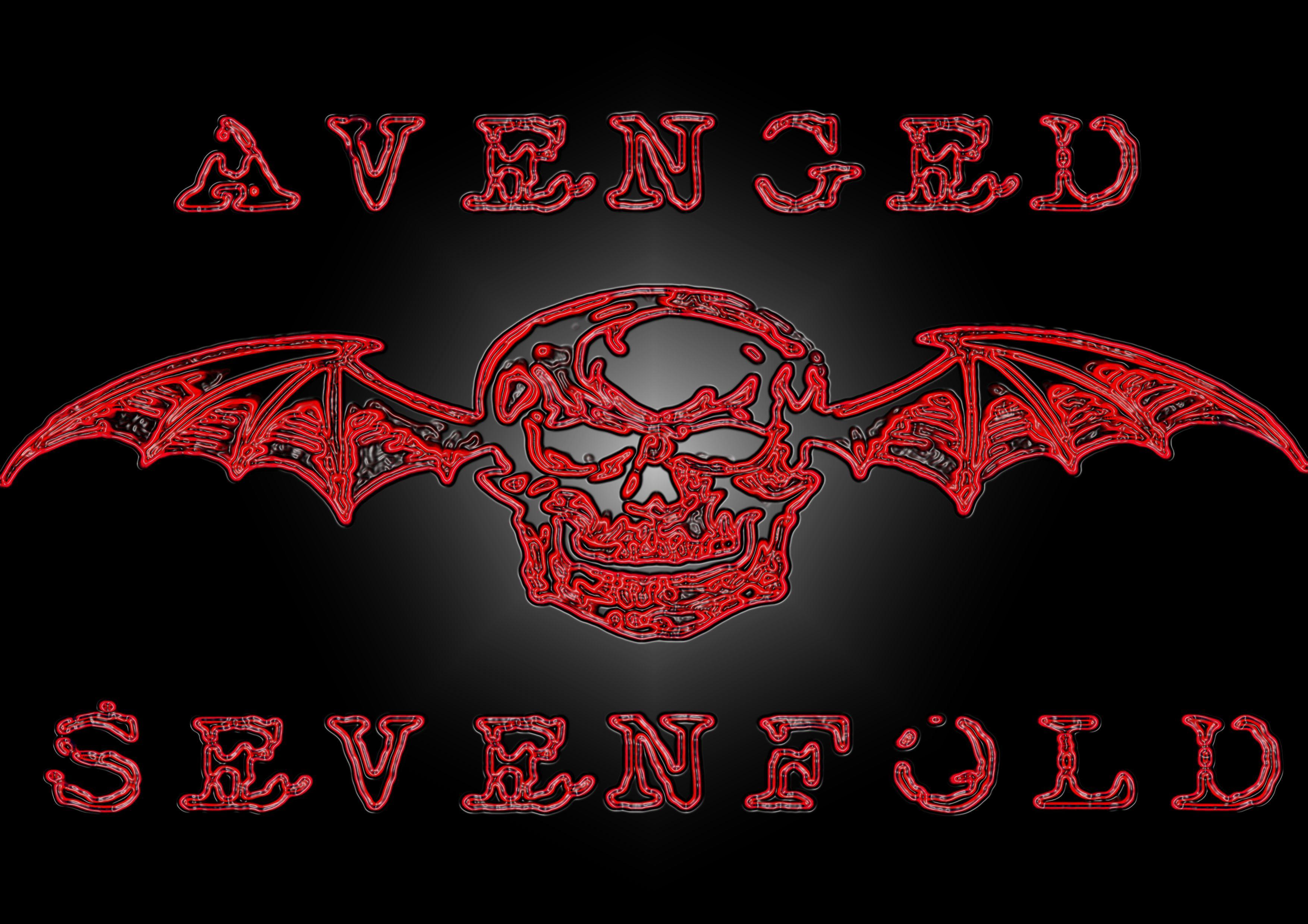 avenged sevenfold logo awesome bands pinterest. Black Bedroom Furniture Sets. Home Design Ideas