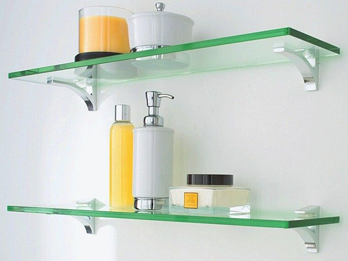 Glass Bathroom Shelves | Cool Bathrooms