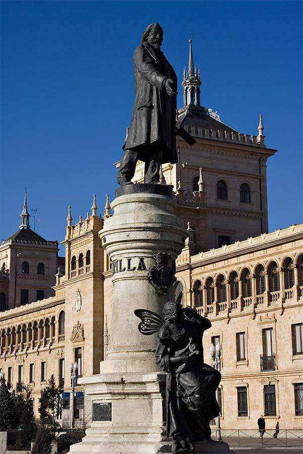 Monumento A José Zorrilla Valladolid Monumento Valladolid España España