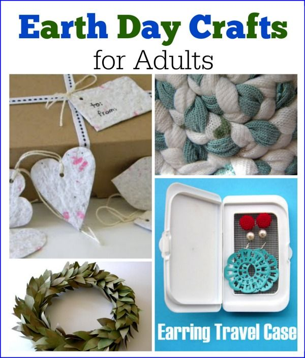 Easy Diy Projects With Household Items: Earth Day Crafts For Adults: Recycle And Upcycle Household