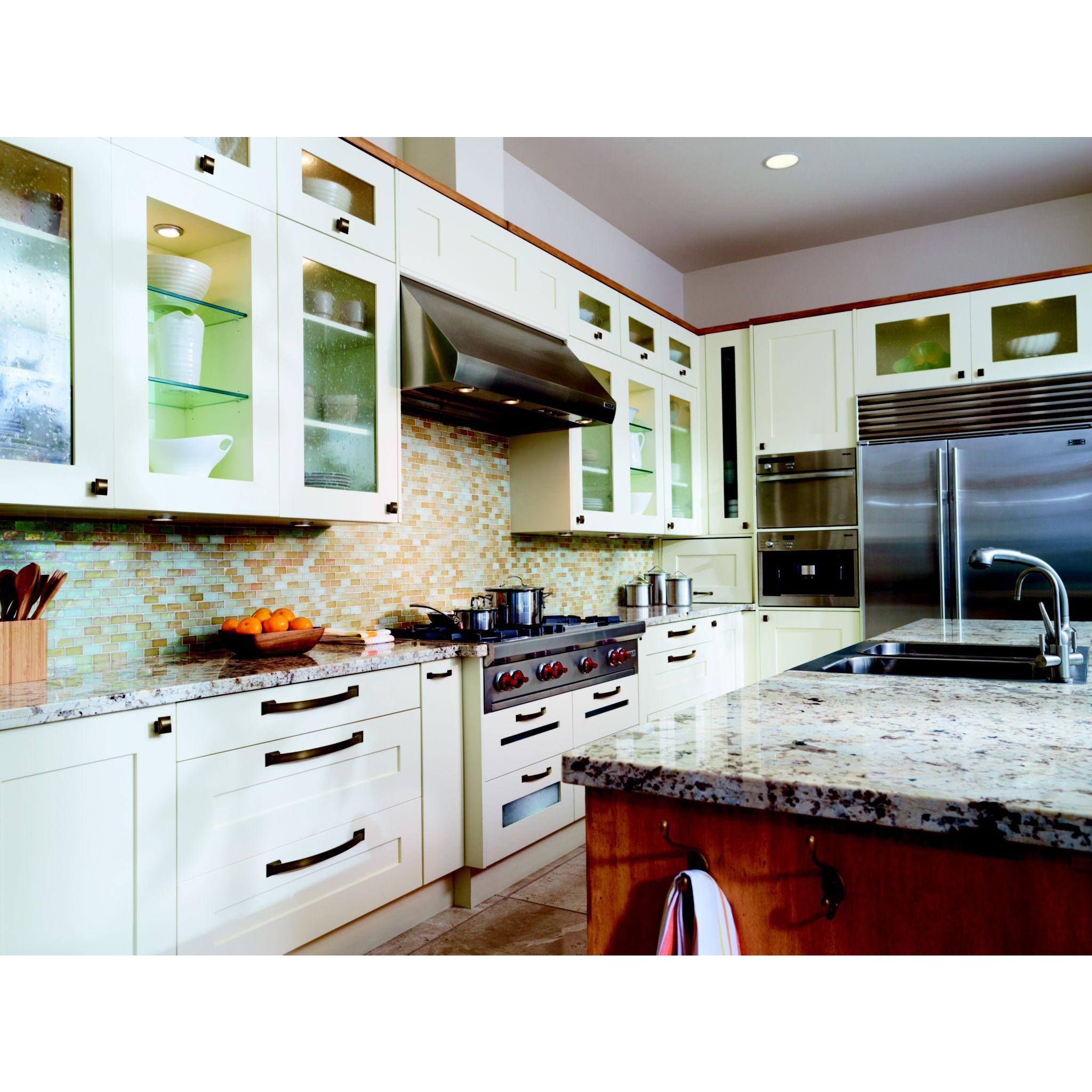 Decor Cabinets Hardware: Amerock Candler In Caramel Bronze Decorative Cabinet