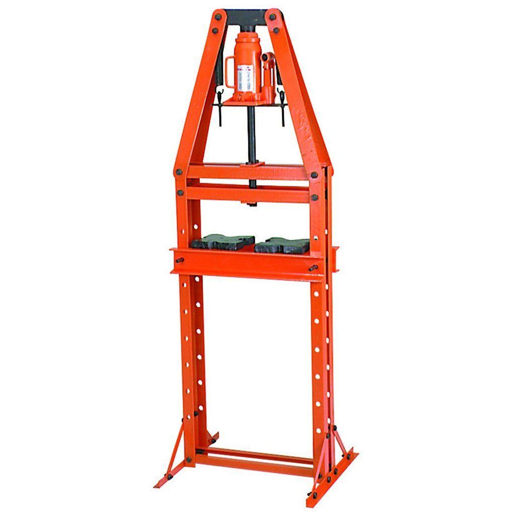 12 Ton A Frame Hydraulic Heavy Duty Floor Shop Press Free Shipping Shop Press Flooring Metal Bending