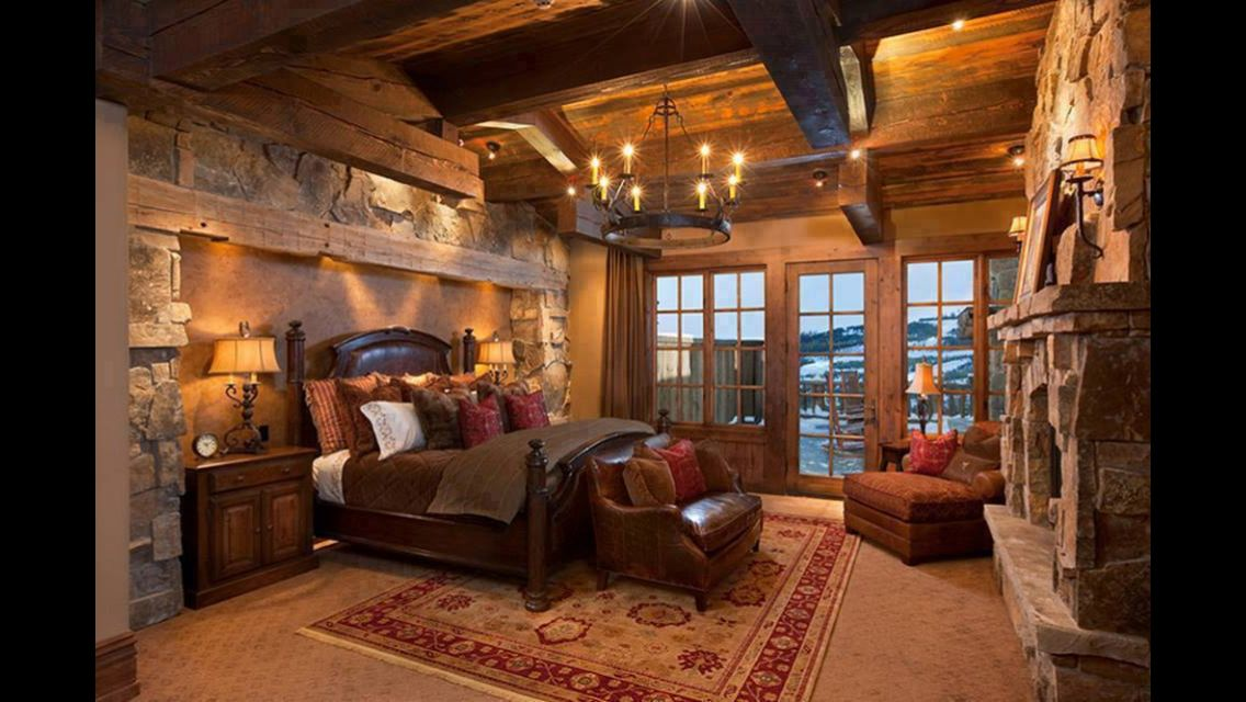 Schlafzimmer ideen rund ums haus pinterest rustikales schlafzimmer schlafzimmer und - Rustikales schlafzimmer ...