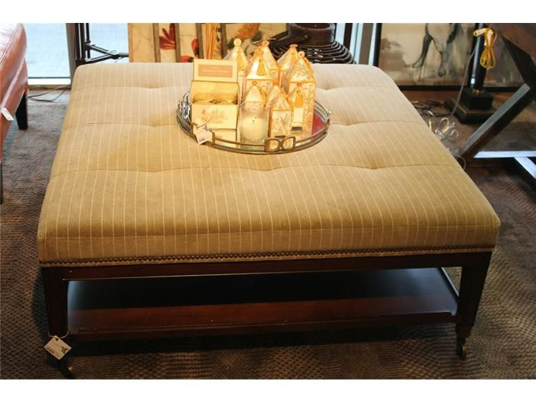 This Would Be Great In A Large Living Room Striped Large Square Ottoman Back Home Furniture