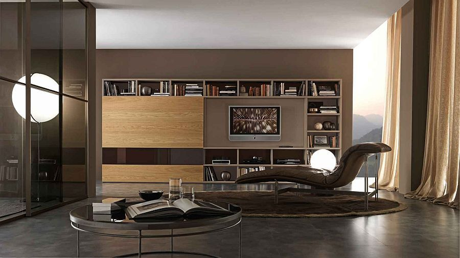 Exceptionnel A Perfect Living Room Design Idea For The Modern Bachelor Pad