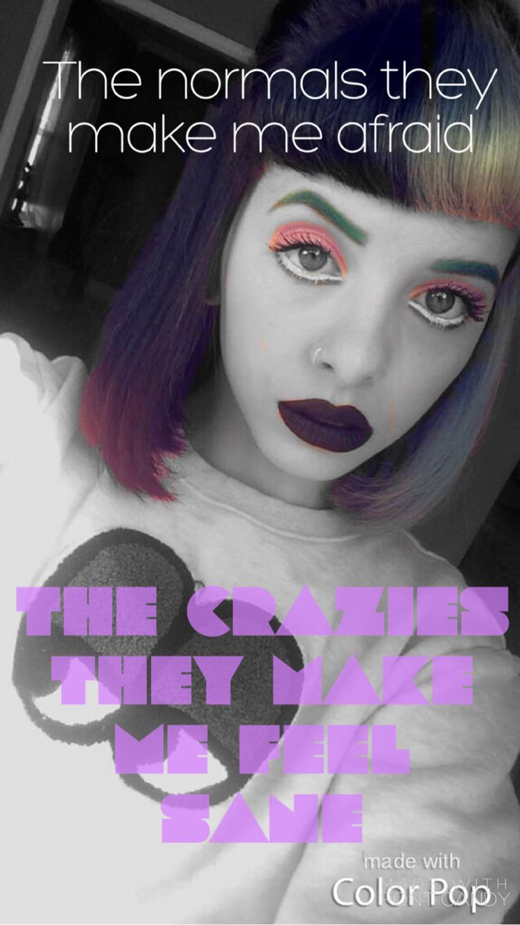Mad Hatter// Melanie Martinez My edit//iPhone wallpaper
