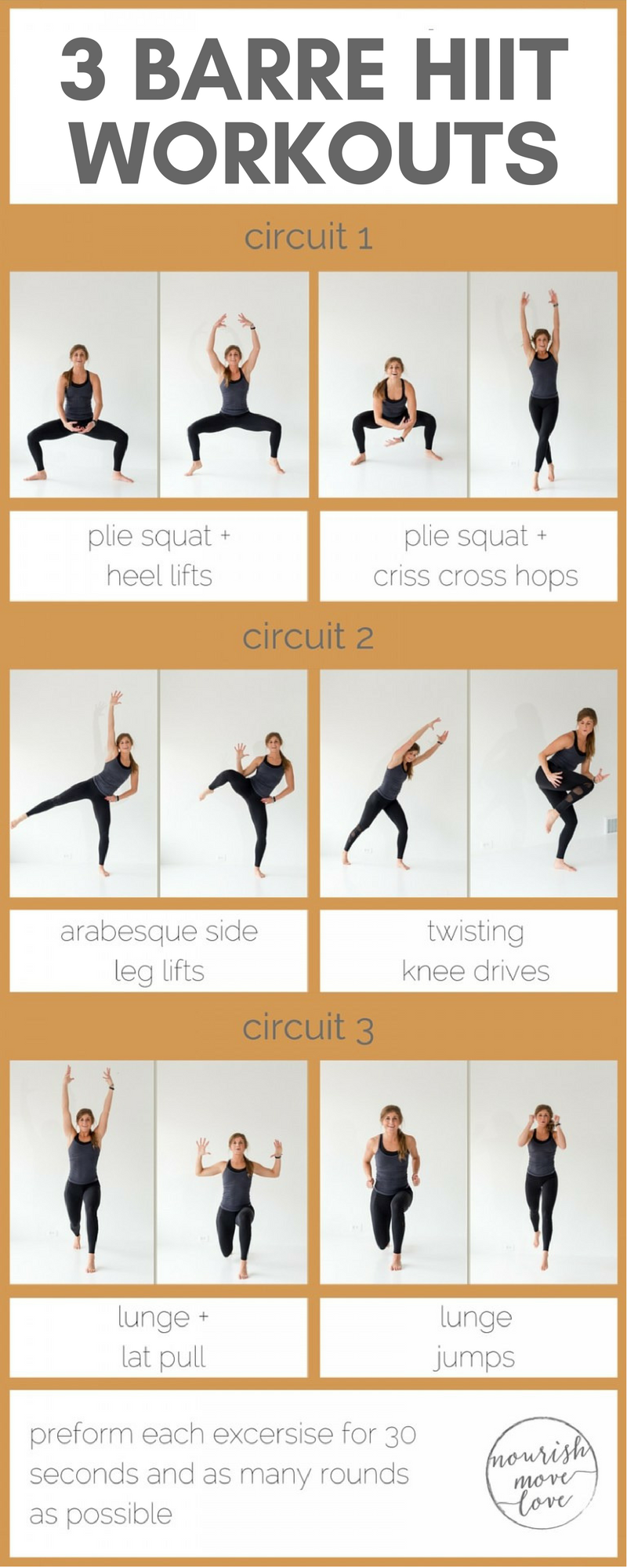 3 Barre HIIT Workouts - Get Healthy U