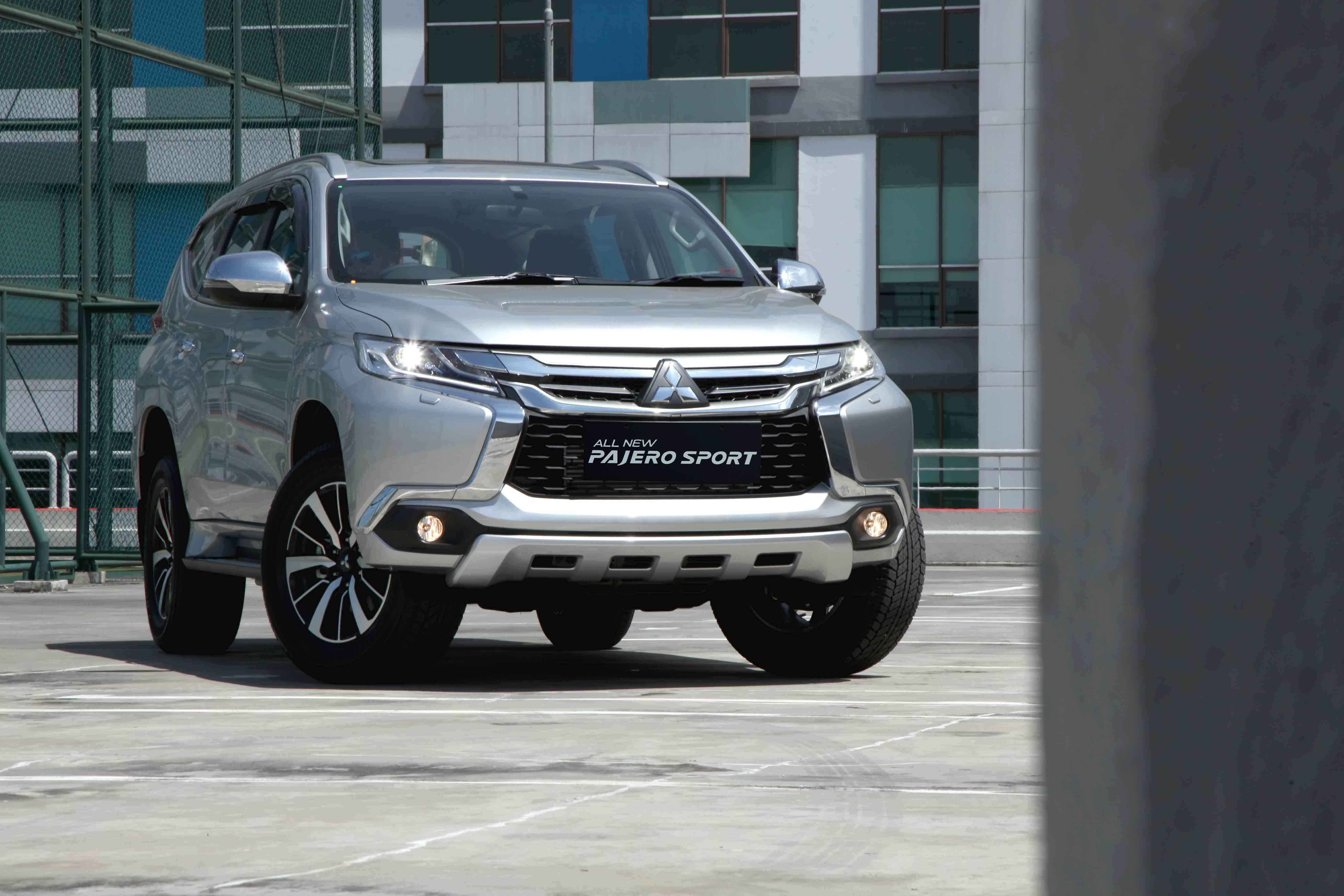 The all New Pajero Sport 2016 Indonesia (Dengan gambar