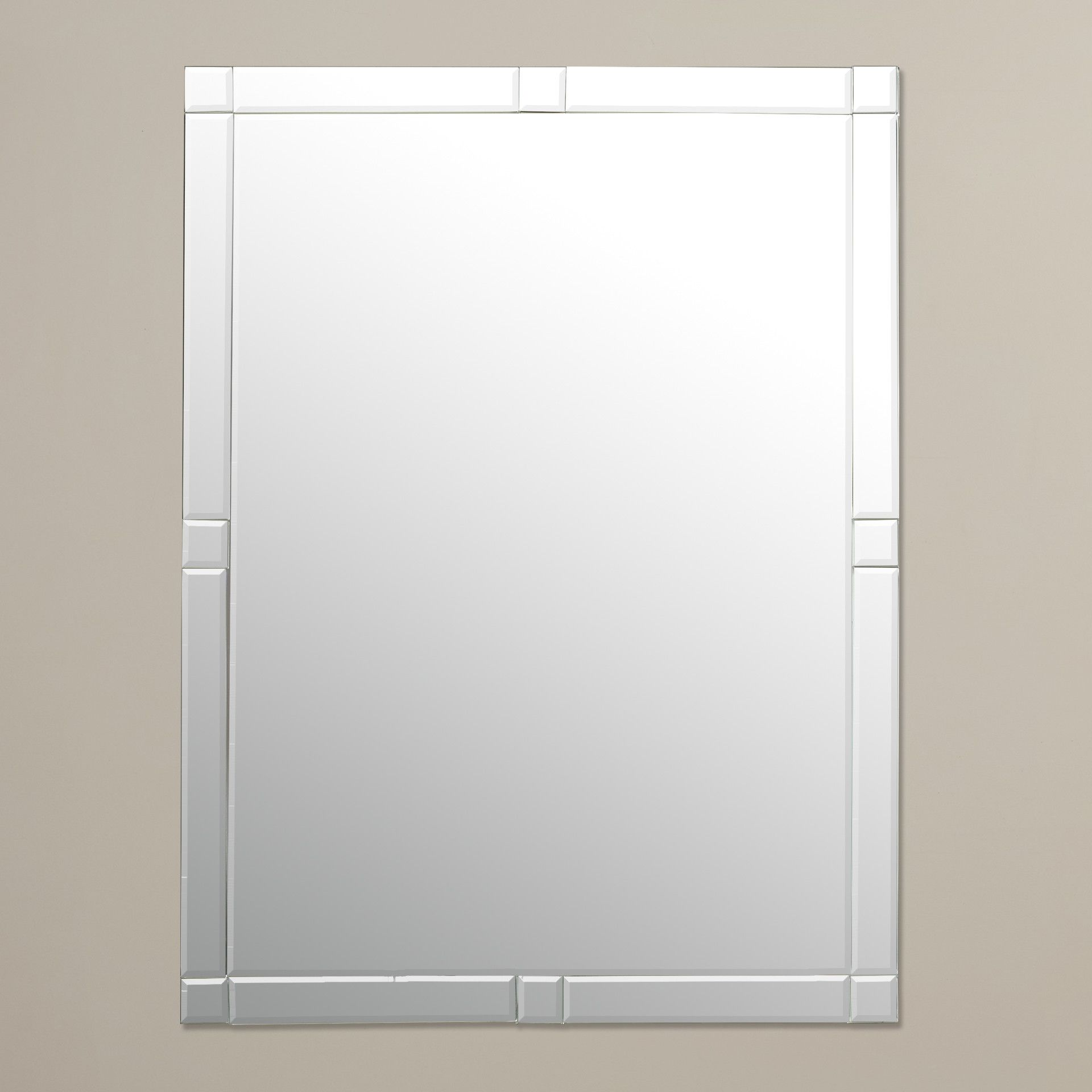 Frameless Wall Mirror Littleton Fc Walls And Contemporary