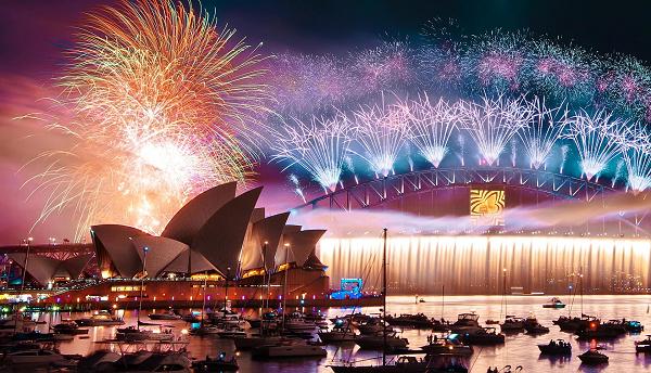 Sydney NYE 2016 fireworks was absolutely amazing! Sydney