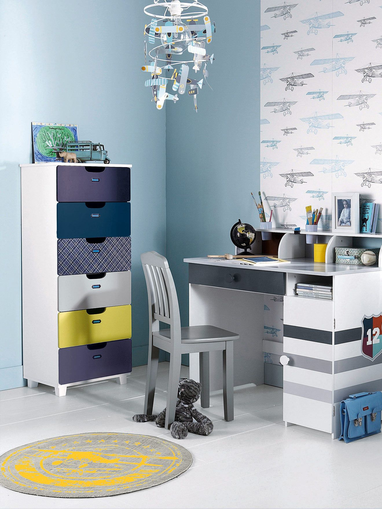 Tapis Th 232 Me Aviator Chambre Enfant Collection