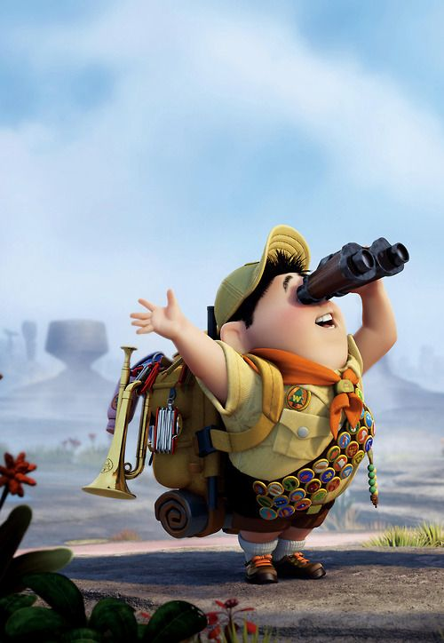 up russell is so funny and cute movies pinterest