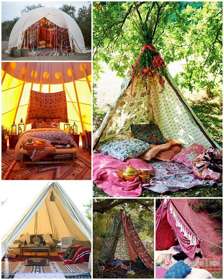 Gypsyyaya From Fantasy To Reality Boho Glamping Boho